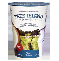 Tree Island Yogurt-CreamTop-Plain