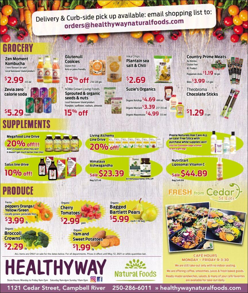 Healthyway May Specials